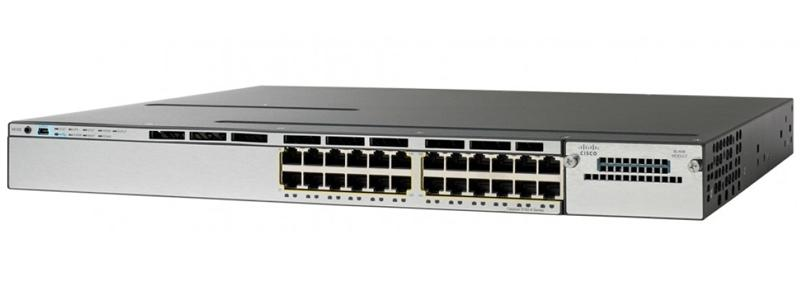 Cisco WS-C3850-24P-S Standalone Switch
