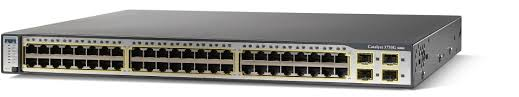 Cisco WS-C3750G-48TS-S Standalone Switch