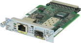 CISCO High-speed WAN Interface Card (HWIC-1GE-SFP).
